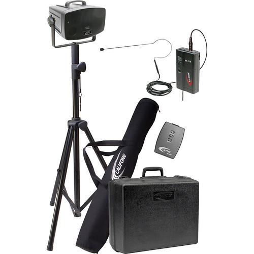 Califone PA319PO Wireless PresentationPro Portable PA Speaker with Over-Ear Mic