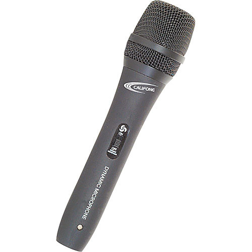 Califone PADM515 Dynamic Handheld Microphone (3-Pin XLR Connector)
