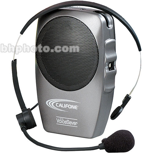 Califone PA-282AV - 2-Watt Portable Personal P.A. Speaker w/Mic