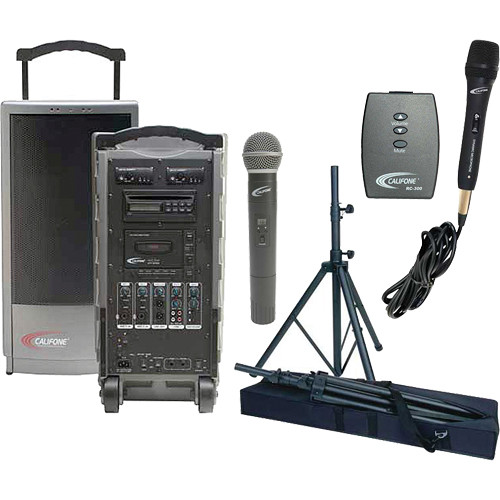 Califone PA919A PowerPro Portable PA System