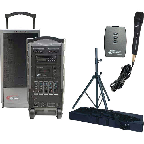 Califone PA919B PowerPro Portable PA System