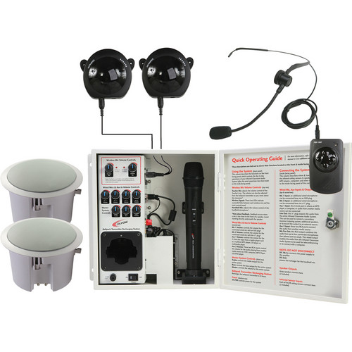 Califone PA-IRSYSCS Classroom Infrared Audio System