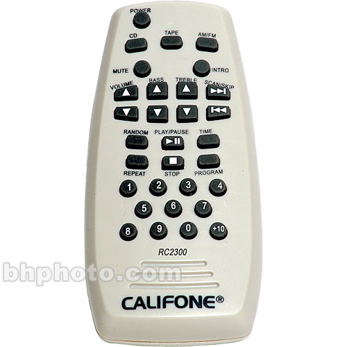 Califone RC-2300 IR Remote Control