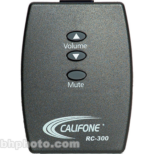 Califone RC-300 Infrared Remote Control for PA-300+