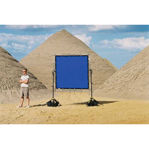 Sunbounce Chroma-key Blue Screen for Sun-Scrim (6x6')