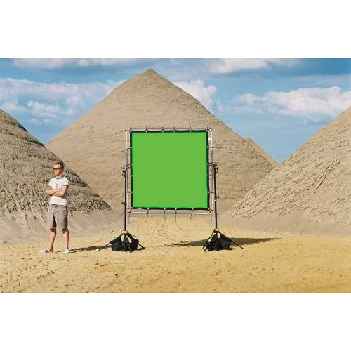 Sunbounce Chroma-key Green Screen for Sun-Scrim (6x6')