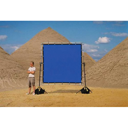 Sunbounce Chroma-Key Blue Screen for Sun-Scrim (8x8')