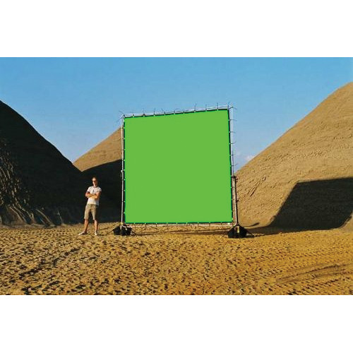 Sunbounce Chroma-key Green Screen for Sun-Scrim (12x12')