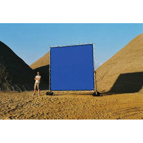 Sunbounce Chroma-key Blue Screen for Sun-Scrim (20x20')