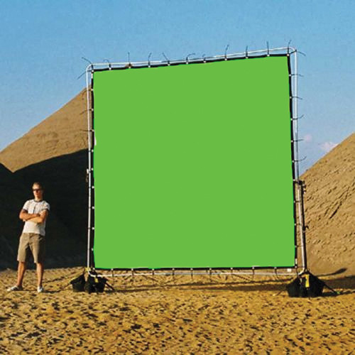 Sunbounce Chroma-key Green Screen for Sun-Scrim (20x20')