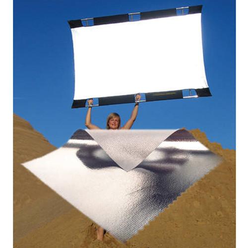 Sunbounce Sun-Bouncer Pro Silver/White Reflector Screen (4 x 6')