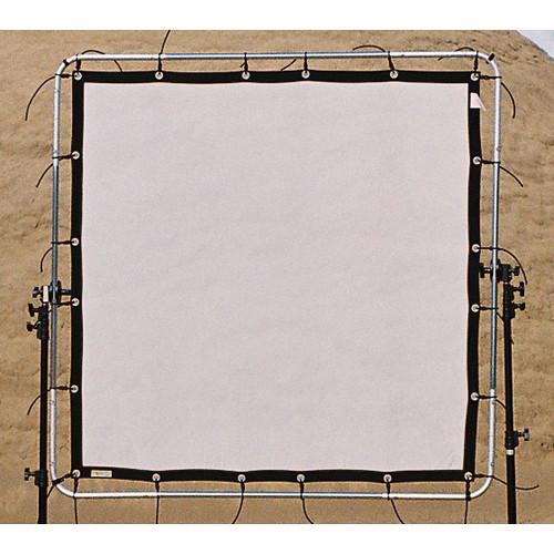 """Sunbounce Sun-Scrim White """"No Moire"""" Net Screen Butterfly Kit (8x8')"""