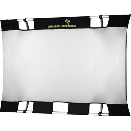 Sunbounce Mini Sun-Bounce Kit - Silver/White Screen (3x4')