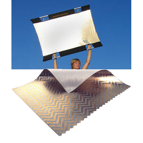 Sunbounce Mini Sun-Bounce Kit - Zebra/White Screen (3x4')