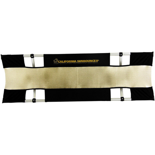 "Sunbounce Sun-Strip Mini Kit with Zebra/White Screen (8 x 36"")"