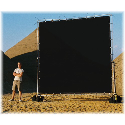 Sunbounce Sun-Scrim Butterfly Kit with Black Polyester Screen (12x12')
