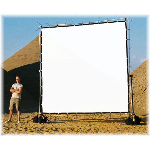 Sunbounce Sun-Scrim Butterfly Kit with Reflex Natural White Polyester Screen (12x12')