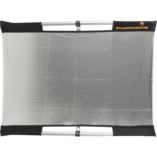 California Sunbounce Micro Mini Sun-Bounce Kit - Silver/White Screen (2x3')