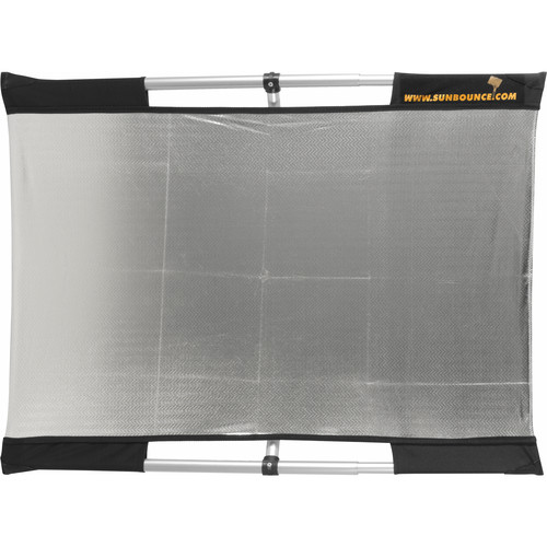 Sunbounce Micro Mini Sun-Bounce Kit - Silver/White Screen (2x3')