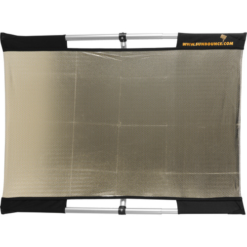 Sunbounce Micro Mini Sun-Bounce Kit - Zebra/White Screen (2x3')