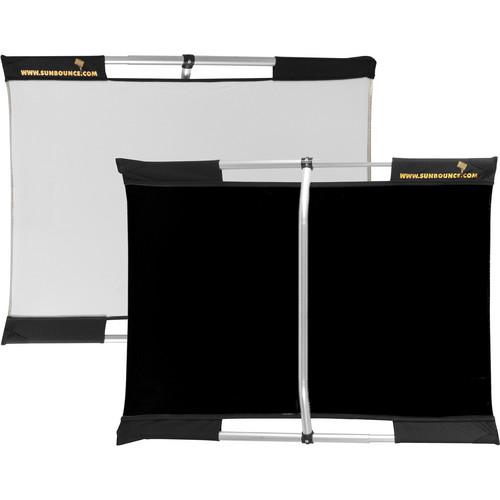 Sunbounce Micro Mini Sun-Bounce Kit - Black/White Screen (2x3')