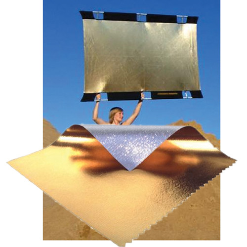 California Sunbounce Pro Sun-Bounce Kit - Gold/Silver Screen (4 x 6')