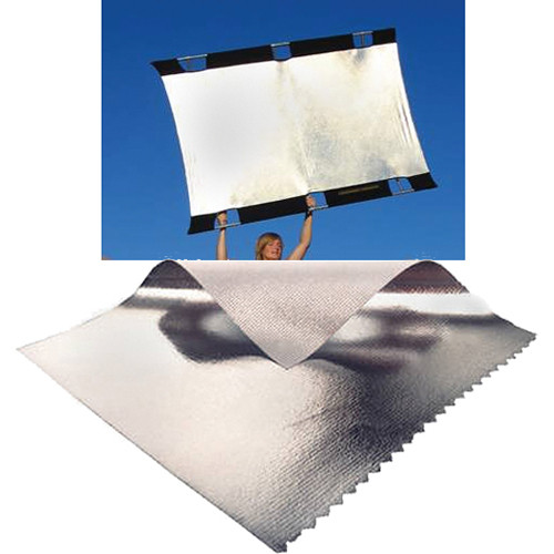 Sunbounce Big Sun-Bounce Kit - Silver/White Screen (6x8')