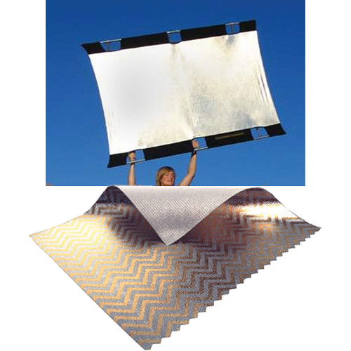 Sunbounce Big Sun-Bounce Kit - Zebra/White Screen (6x8')