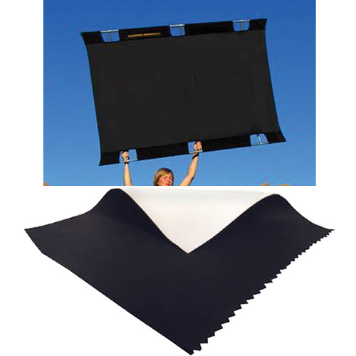 Sunbounce Big Sun-Bounce Kit - Black/Soft White Screen (6x8')