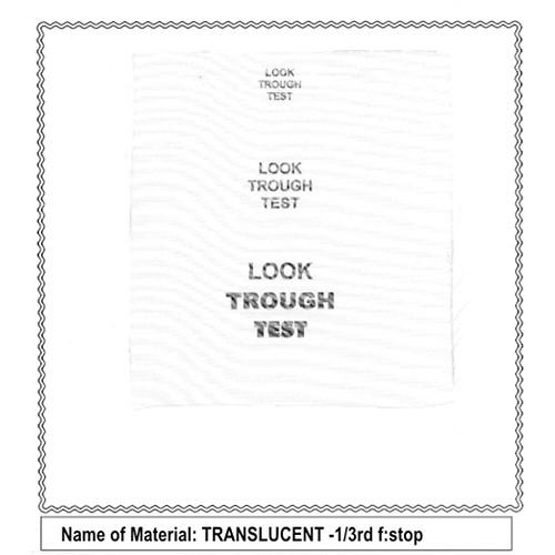 Sunbounce Translucent 1/3 Bulk Diffusion Material (500cm Width)