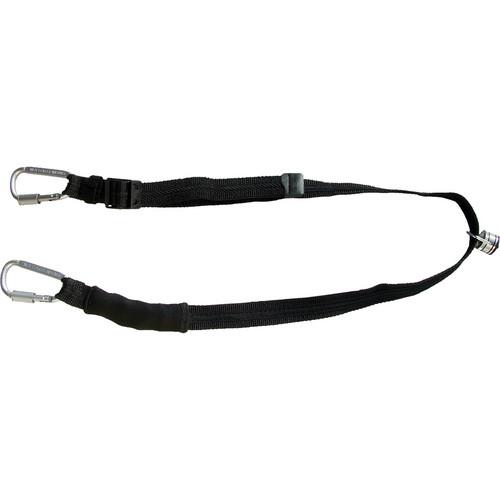 Sun-Sniper Sun-Sniper Backpack Strap (Black/Gun Metal Gray Carabiners)