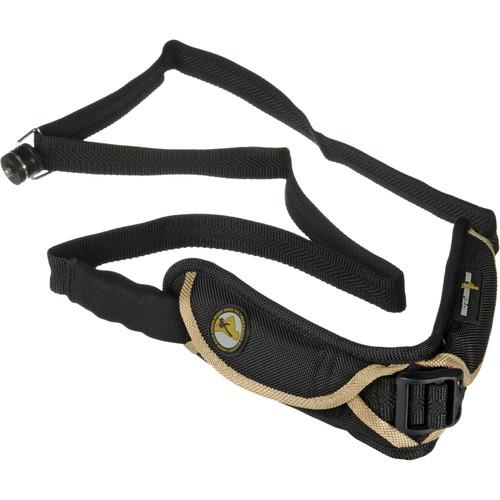 Sun-Sniper Camera Sniper-Strap (Black/Gold)