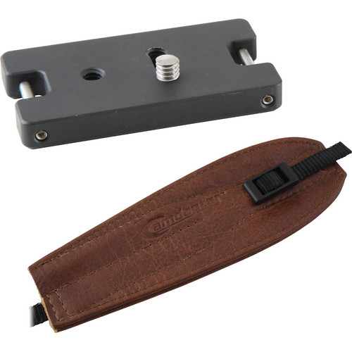 Camdapter Standard Adapter with Medium Brown Pro Strap