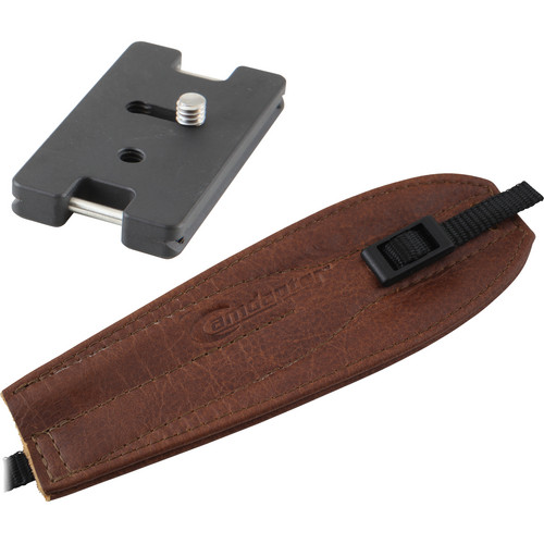 Camdapter Arca Adapter with Brown Pro Strap