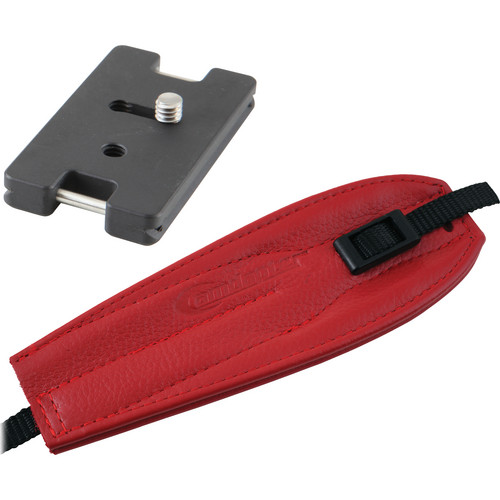 Camdapter Arca Adapter with Red Pro Strap