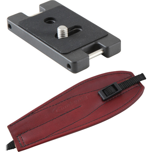 Camdapter Standard Neoprene Adapter with Burgundy Pro Strap