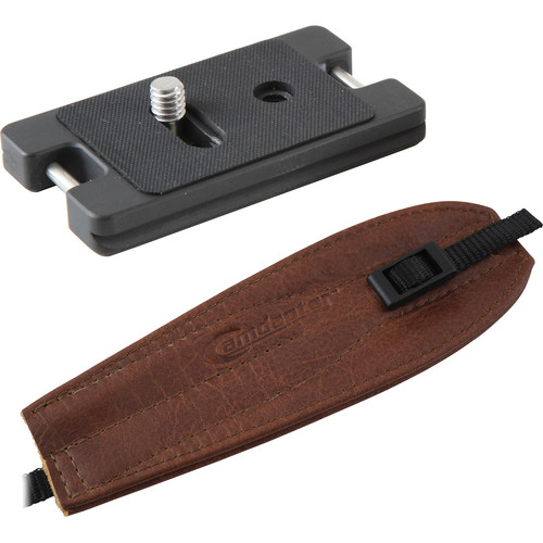 Camdapter Arca Neoprene Adapter with Brown Pro Strap