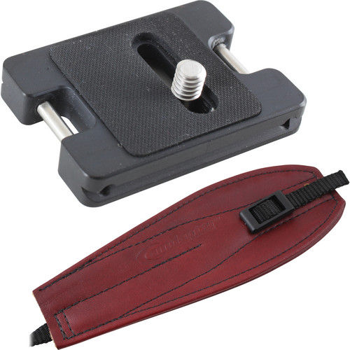 Camdapter XT Arca Adapter with Burgundy Pro Strap