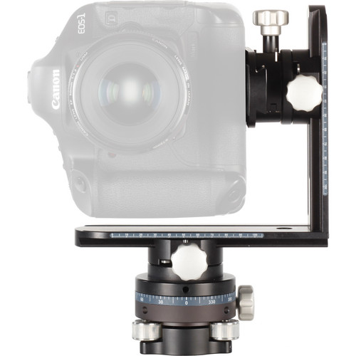 Cambo CLH-500 Panoramic Leveling Head with L-Bracket