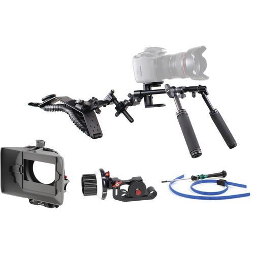 Cambo CS-LS-ERIS Fully Adjustable HDSLR Support (Follow Focus, CS-M210)