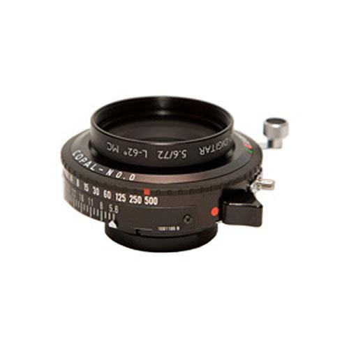Cambo 72mm f/5.6 L Schneider Apo-Digitar Lens with Copal #0 Shutter