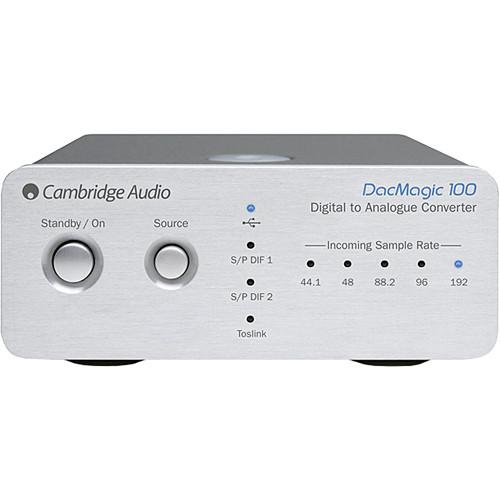 Cambridge Audio DacMagic 100 - Digital to Analog Converter (Silver)