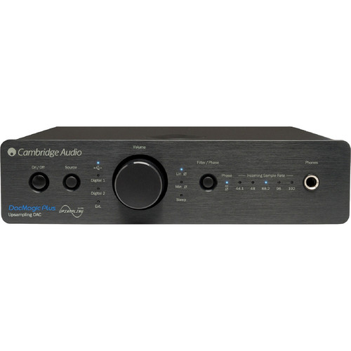 Cambridge Audio DacMagic Plus - Digital to Analog Converter (Black)