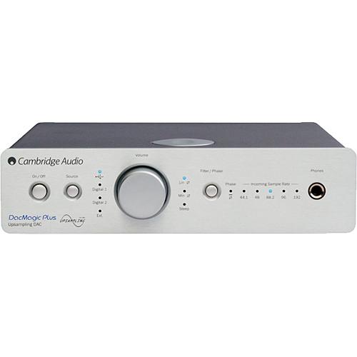 Cambridge Audio DacMagic Plus - Digital to Analog Converter (Silver)