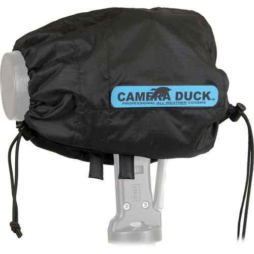 Camera Duck Standard All Weather Cover without Warmer Pack (Black)