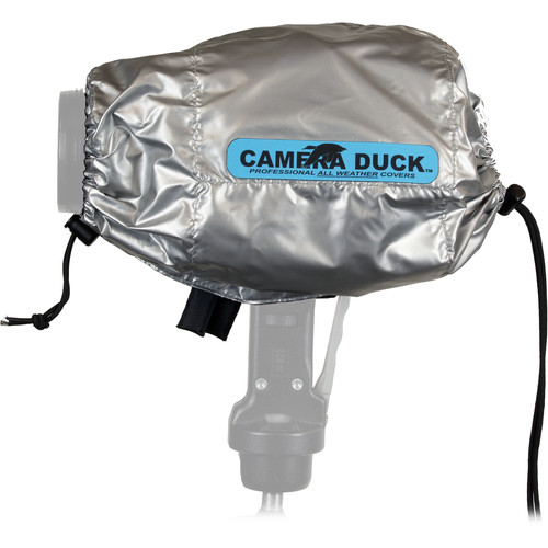 Camera Duck Standard All Weather Cover without Warmer Pack (Silver)