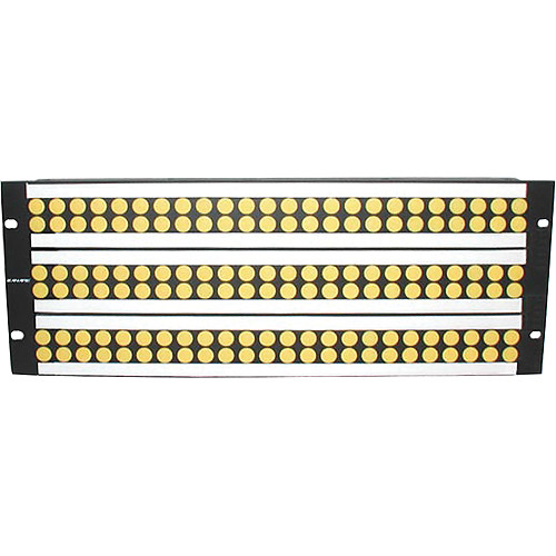 Canare 244U-DVJBW / Digital Patchbay (6 x 24 / Normal Through)