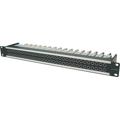 Canare 32MD-ST Mid-size HD-SDI Patchbay (2 x 32 / Normal Through)
