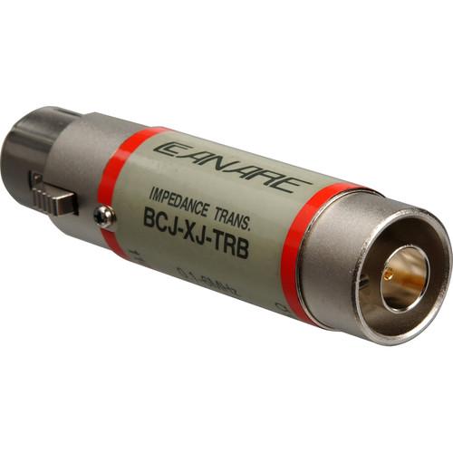 Canare BCJ-XJ-TRC 110 Ohm to 75 Ohm Digital Audio Impedance Transformer