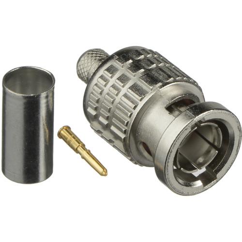 Canare 3.0 GHz 75-ohm BNC Plug for Canare L-3CFW Cable